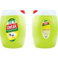 Güleç Detax Süper Extra Sıvı Bulaşık Deterjanı 4000 ml