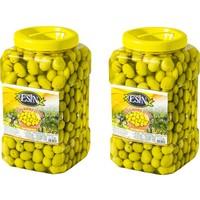 Esin Zeytin Ege'nin İncisi Esin Kahvaltılık Edremit Kırma Yeşil Zeytin 2 kg