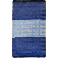 Evden Avm Kaymaz Taban Banyo Halısı Mavi 60 x 100 cm