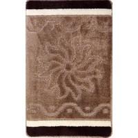 Evden Avm Kaymaz Taban Banyo Halısı Kahverengi 50 x 80 cm