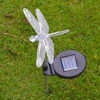 Bimbambom Solar Bahçe Lambası Yusufçuk 7701,Renkli Dekoratif Bahçe Aydınlatma