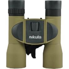 Nikula 8 x 32 Dürbün Av Dürbünü 96 m / 1000 m Çift Göz Netlik Ayarlı