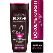 Loreal Paris Elseve Arginine Direnç x3 Dökülme Karşıtı Şampuan 450 ml