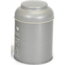 Evle EF080-86 Metal Yuvarlak Kutu 90 x 110 mm Kubbe Kapak 0.8 lt