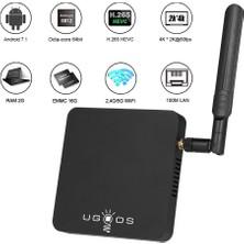 Ugoos Am3 Akıllı Android 7.1 Tv Kutusu Amlogic S912 (Yurt Dışından)