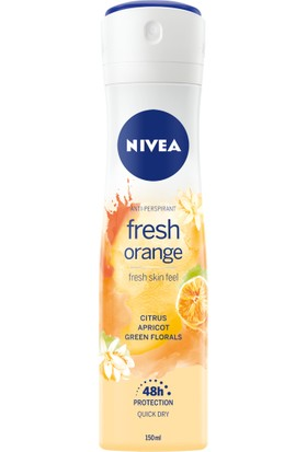 Nıvea Fresh Orange Kadın Sprey Deodorant 150 Ml