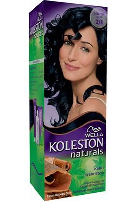 Wella Koleston Naturals 2/8 Böğürtlen Siyahı - Kalıcı Krem Saç Boyası