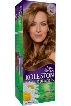 Wella Koleston Naturals 7/3 Karamel Kumral - Fındık Kabuğu - Kalıcı Krem Saç Boyası