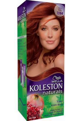 Wella Koleston Naturals 7/64 Vişne Kızılı - Kalıcı Krem Saç Boyası