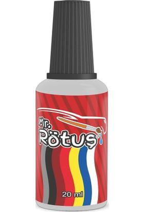 Mr Rötuş® Çizik Giderici Oto Rötuş Boyası Patentli - Metalik Gri 10 ml