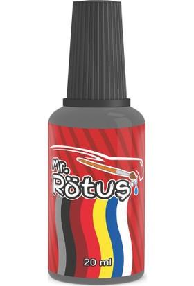 Mr Rötuş® Çizik Giderici Oto Rötuş Boyası Patentli - Metalik Füme 10 ml