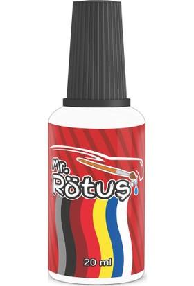 Mr Rötuş® Çizik Giderici Oto Rötuş Boyası Patentli - İnci Beyaz 10 ml