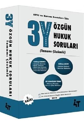 4T Yayınları 3y Özgün Hukuk Soruları