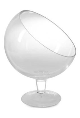 Dereli Plastik Yarım Ay Ayaklı Magnolia Cup 6'lı Tatlı Bardağı
