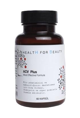 Health For Beauty Acv Plus Elma Sirkesi Probiyotik Içeren Gıda Takviyesi 60 Kapsül