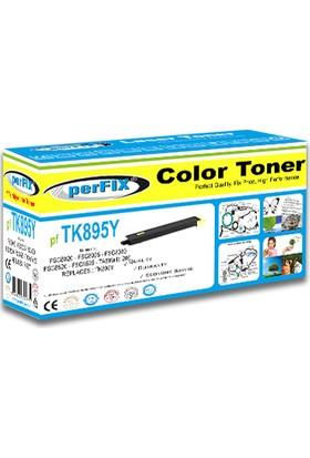 Perfıx PFTK895 6000 Sayfa Sarı Muadil Toner