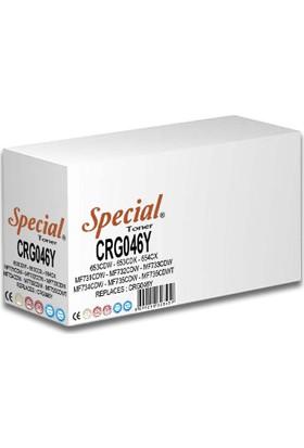 Special CRG046Y 2300 Sayfa Sarı Muadil Toner