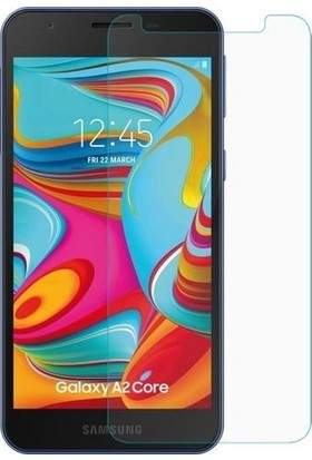 Zore Samsung Galaxy Core 2 Maxi Glass Temperli Cam Ekran Koruyucu