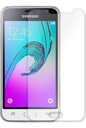Zore Samsung Galaxy J1 Maxi Glass Temperli Cam Ekran Koruyucu