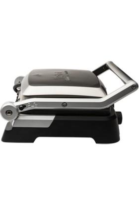 Tefal GC470 Grill Gourmet Minute 2000 Watt Paslanmaz Çelik Tost Makinesi [ Inoks ] - 9100029276
