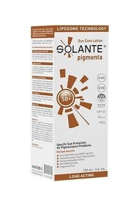 Solante Pigmenta 50+ Sun Care Lotion 150 ml