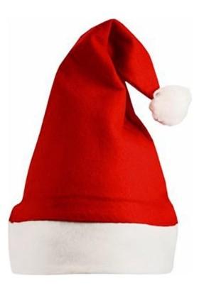 Kostümce Bebek Noel Baba Şapkası Polar