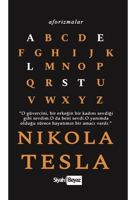 Aforizmalar - Nikola Tesla
