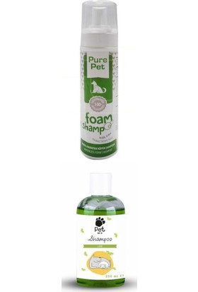 Pet Love Pure Pet Lime Limon Kedi & Köpek Şampuanı Seti 250+225