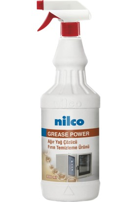 Nilco Grease Power 800 ml | Ağır Yağ Çözücü Fırın Temizleme Ürünü