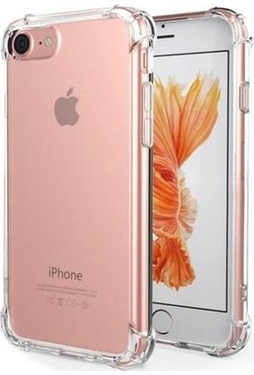 Minesk Apple iPhone 7 Plus Köşe Korumalı Kılıf Şeffaf