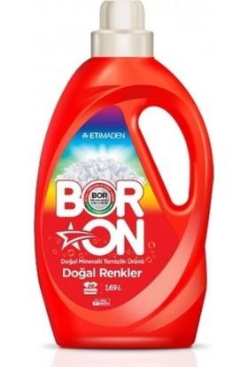 Boron Sıvı Deterjan 1690 ml Doğal Renkler -4'lü Koli