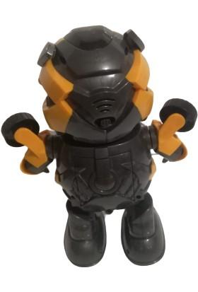 Hero Robot Transformers Dance Hero Bumble Bee Işıklı Dans Eden Robot