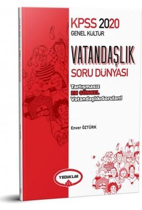 Yediiklim Yayınları 2020 KPSS Vatandaşlık Soru Dünyası