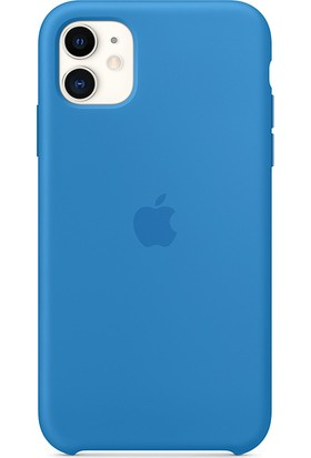 Apple iPhone 11 Silikon Kılıf Sörf Mavisi - MXYY2ZM/A