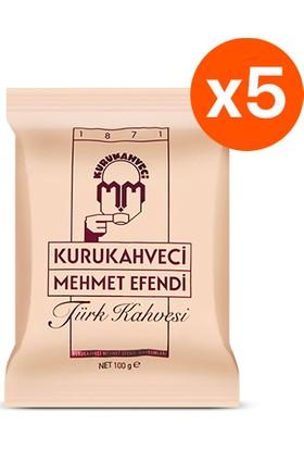Mehmet Efendi Türk Kahvesi 100 Gr x 5 Adet