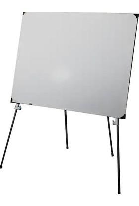 Neon Dört Ayaklı Teleskopik Beyaz Yazı Tahtası 70 x 100 cm