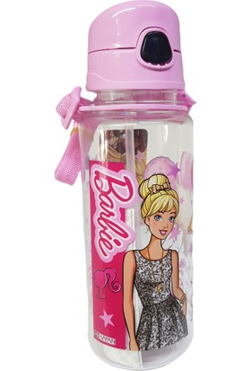 Hakan Çanta 78820 Barbie Şeffaf Matara 500 ml