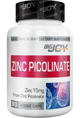 Bigjoy Suda Vitamin Zinc Picolinate 90 Bitkisel Kapsül