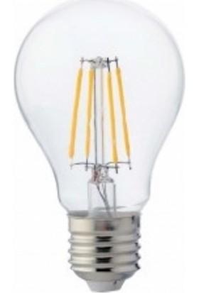Global K2 6W LED Flament Ampul A60 Beyaz Işık
