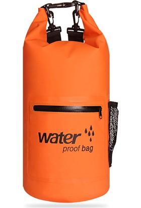 Yukka 10L 20L Su Geçirmez Kuru Torba Yürüyüş Sırt Çantası Yürüyüş Çantası Kuru Çanta Açık Kamp Su Sporları Için