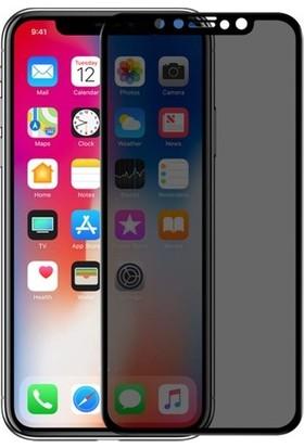 Minesk Apple iPhone X Privacy Cam Ekran Koruyucu