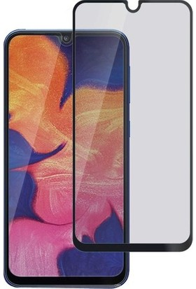 Minesk Samsung Galaxy A10S Privacy Temperli Ekran Koruyucu