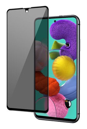 Minesk Samsung Galaxy A71 Privacy Temperli Ekran Koruyucu