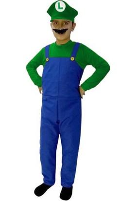Kostümce Luigi Kostümü