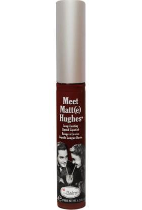 The Balm Meet Matt(E) Hughes Liquid Lipstick Ruj - Adoring