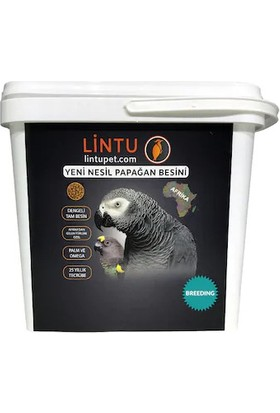 Lintu Afrika Breeding Papağan Üretim Besini 5 kg