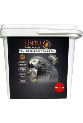 Lintu Afrika Yüksek Protein Papağan Besini 5 kg