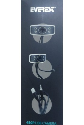 Everest SC-825 USB Mikrofonlu Kamera