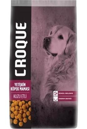 Croque Kuzulu Yetişkin Köpek Maması 15 kg