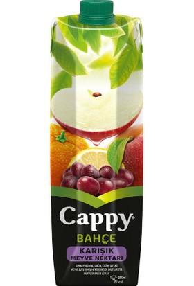 Cappy Meyve Suyu Karışık 1 Lt 4'lü